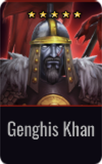 Warrior Genghis Khan