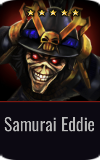 Warrior Samurai Eddie