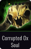 Sentinel Corrupted Ox Soul