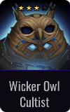 Magus Wicker Owl Cultist