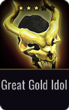 Gunner Great Gold Idol